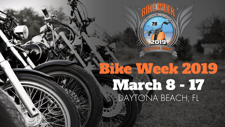 Daytona Beach Bike Week 2019