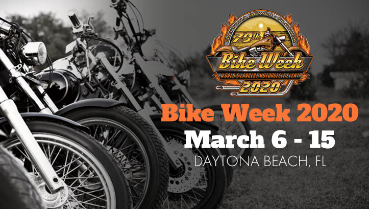 American Motor Show Calendario.Daytona Bike Week 2020 Official Bike Week Website