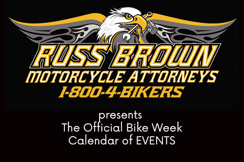 The  Official Bike Week Calendar Of Events
